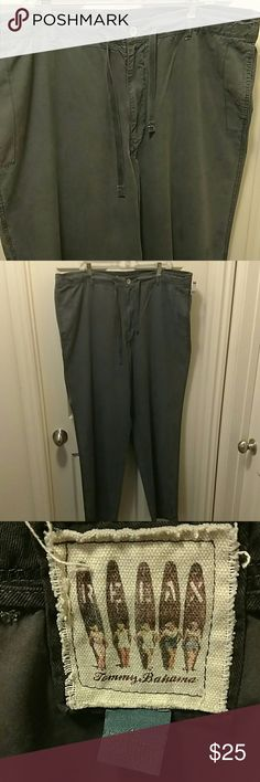 🏝Tommy Bahama Relax Lounge Pants 🌅 TOMMY BAHAMA MEN'S RELAX DRAWSTRING LOUNGE PANTS WITH POCKET ON THE THIGH. COTTON / TENCEL BLEND. VERY LIGHTWEIGHT  SIZE 40X33  VERY GOOD CONDITION WITH NO RIPS TEARS OR STAINS  #284 Tommy Bahama Pants