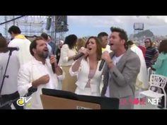 ▶ Soledad Pastorutti, Axel y Martín Valverde - Nadie te ama como yo ( JMJ Rio 2013 ) - YouTube