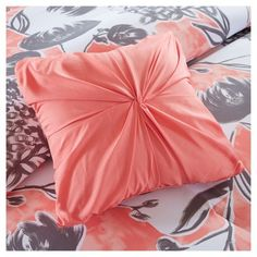 Vera Comforter Set (Twin/Twin Extra Long) 4pc - Coral (Pink)
