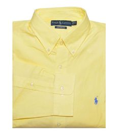 Ralph Lauren Men Custom Fit Long Sleeve Pony « Love this one for Easter!