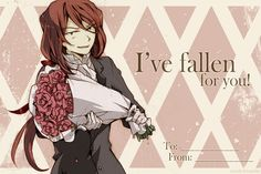 """""""I've fallen for you."""" 