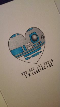 Star Wars Valentines Love Card by ShelbyGoelz on Etsy