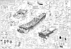 Boat Plans: What You Must Know Before Choosing One Model Sailing Ships, Old Sailing Ships, Model Ships, Model Ship Building, Boat Building Plans, Wooden Model Boats, Model Boat Plans, Diy Boat, Wooden Ship