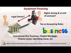 Financial Statements: Business Equipment Financing
