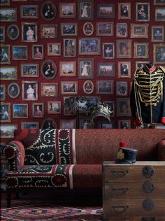 Wallpapers: Collection Museum, product Gallery - Andrew Martin
