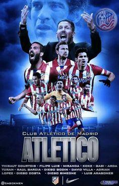 Atletico de Madrid un equipo de película.