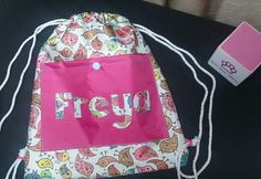 Swim bags in ripstop, personalised to order