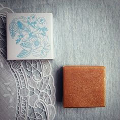 Honey Oatmeal soap by Soap Theory, Bangkok Thailand.