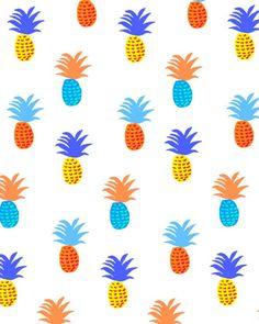Colorful Pineapples / Ananas colorés