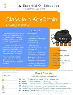 Class in a KeyChain!  www.mydoterra.com/giselahernandez   www.facebook.com/eldiarioholisticodemama   www.facebook.com/momsholisticjournal