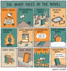INCIDENTAL COMICS: The Many Faces of the Novel