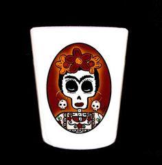 Frida Shot Glass