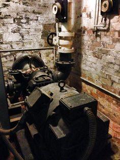 Old Mather & Platt Fire Pump Fire Sprinkler, Sprinklers, Fire Safety, Firefighting, Pump, Loft, Vintage, Sprinkler, Court Shoes
