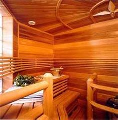 Reminds me of our sauna growing up! I miss it!!