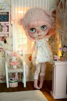 Rosemary OOAK Custom Blythe Doll 13 by MaPoupeeCherie on Etsy
