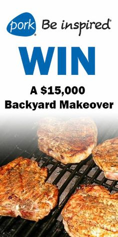You Could #Win a $15,000 #Backyard #Makeover! #outdoors #home #sweepstakes