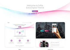 Intro Hello Friends, Hello friends, Now I am coming with a new topic of SAAS. In a simple technical language, saas means Software As A Service. App Landing Page, One Page Website, Blog Layout, Start Up Business, Digital Technology, Business Website, Helping People, Wordpress Theme, Mobile App