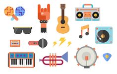 Google Play Music by Zachary Gibson, via Behance