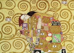Fulfilment - Gustav Klimt - Fotobehang & Behang - Photowall