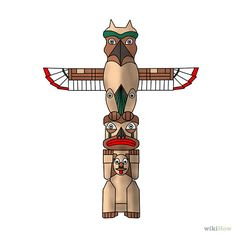 How to Draw a Totem Pole: 8 Steps - wikiHow