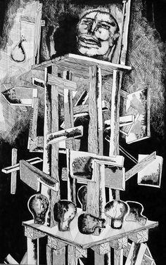 01. Diktatúra, 1969. tus, kollázs, 40x60 cm - Muhi Sándor – Wikipédia