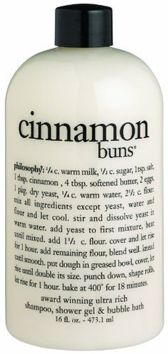 Philosophy Cinnamon Buns Shower Gel