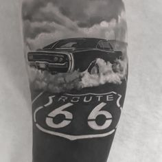 Route 66 tattoo @lubomir_palba