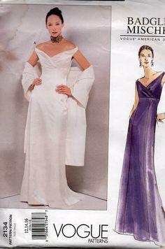 Designer Vogue Sewing Pattern Badgley by AdeleBeeAnnPatterns, $14.50