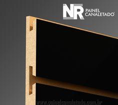 Mdf Canaletado – Painel Canaletado - Slatwall - Expositores de Lojas Mdf