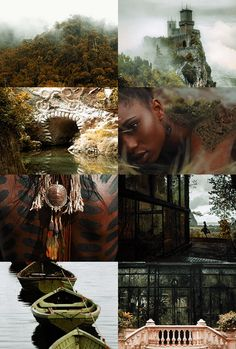 "Wizarding Schools Aesthetic | Castelobruxo 1/2: ""The Brazilian school for magic, which takes students from all over South America, may be found hidden deep within the forest."""