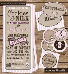 Cookies & Milk shower