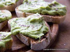 Crostini mit Guacamole | Kleiner Kuriositätenladen