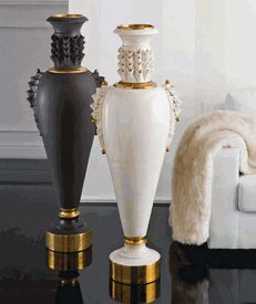 Signature Collection: Grand Scale Luxury High End Floor Vases * Partner Table Lamps Available * Price Guide From $5,000 * Coming Soon