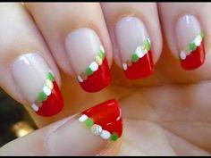 Christmas Nails - Nail art Tutorial