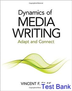 50 best test bank download images on pinterest dynamics of media writing ebook hacked dynamics of media writing adapt and connect by vincent f filak flow of media writing gives understudies fandeluxe Image collections