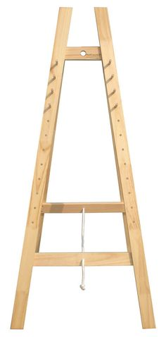 Mont Marte Floor Easel - Large School A-Frame Easel w/Pegs Pine Wood Floor Easel, Table Easel, Art Shed, Art Easel, Art Supplies, Cool Things To Buy, Flooring, Wood, Frame