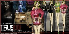 True Blood- A Study In Character and Fashion by Freelance Fashion Designer NYC , Another view of styles with Sookie Stackhouse