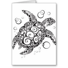 Trible Tattoo Card