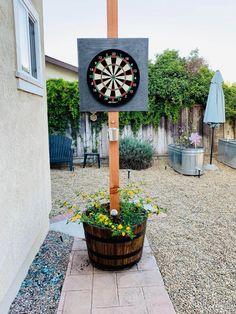 Backyard Patio Designs, Backyard Games, Diy Yard Games, Small Backyard Design, Backyard Seating, Small Patio, Garden Design, Outdoor Fun, Outdoor Decor