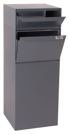$992. Mailbox vault only, no column. Heavy duty, full package acceptance, mail slot, paper slot, lockable, rear access. Intended for installation in column.