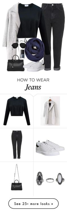 """Untitled #3171"" by peachv on Polyvore featuring mode, Topshop, Yves Saint Laurent, adidas, BP., 3.1 Phillip Lim et NARS Cosmetics"