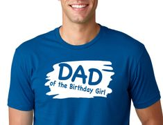 Excited to share the latest addition to my #etsy shop: DAD of the Birthday Girl Shirt