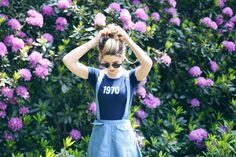 In LOVE with her dungarees!!