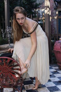 Is that you, Jessa? Girls star Jemima Kirke channels HBO character as she models…