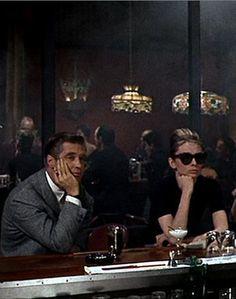 "Audrey Hepburn & George Peppard- ""Breakfast at Tiffany's,"" 1961"