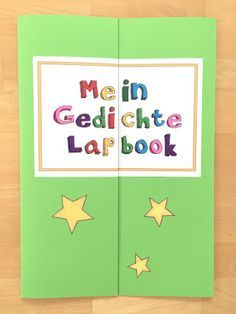 materialwiese: Gedichte-Lapbook in der Grundschule