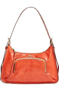 Hobo 'Harloh' Leather Shoulder Bag available at #Nordstrom