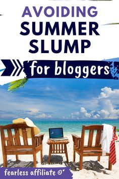 Avoid Summer Slump by Fearless Affiliate. Summer slump does not have to leave you high and dry. Take this time to work on blogging tasks that get you ready for better traffic. Summer Slump. Blog Traffic. SEO. New Bloggers. Email Marketing. Backup Your Blog. #summerslump #blogtraffic #SEO #emailmarketing #createcontent #backupyourblog.