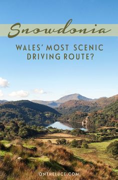 Snowdonia road trip – is this Wales' most scenic drive On the road in Snowdonia National Park in North Wales, through clear lakes, mountain peaks and forests – could this be Wales' most scenic driving route? Parc National, National Parks, Cool Places To Visit, Places To Go, Destinations D'europe, Holiday Destinations, Wales Holiday, Monument Valley, Visit Wales