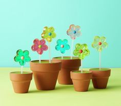 How To: Make Sweet Pots   Celebrate spring with these simple, festive, and fun ideas.